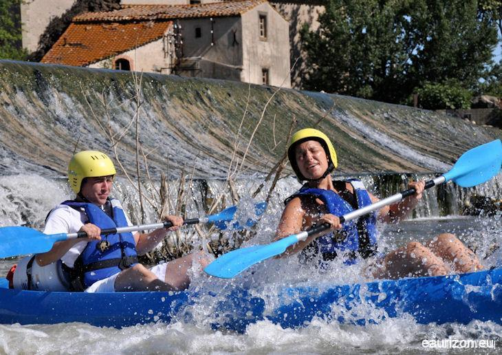 Canoë-Kayak sur l'Aude