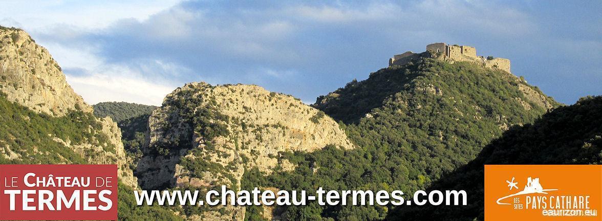 Visitez le Chateau de Termes dans l'Aude
