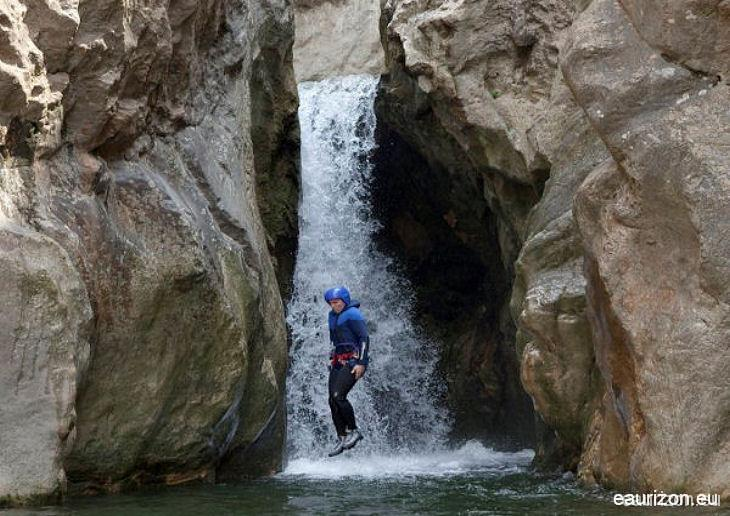 Canyoning dans l'Aude les Pyrénées Orientales et l'Hérault