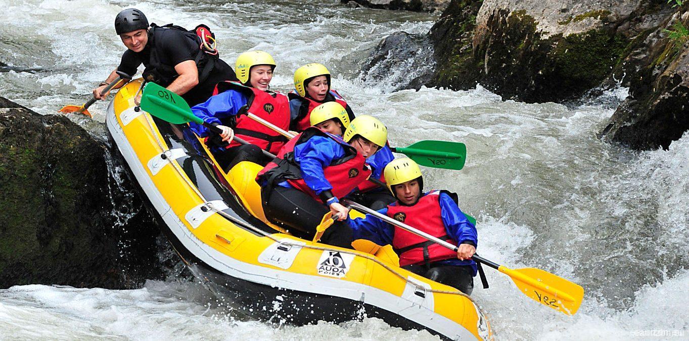 Rafting sur l'Aude