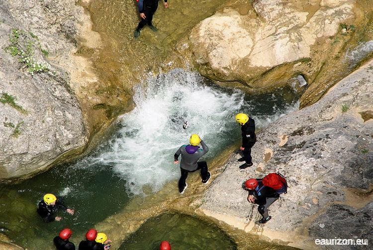 Canyoning Galamus - Aude - Pyrénées Orientales - Eaurizon