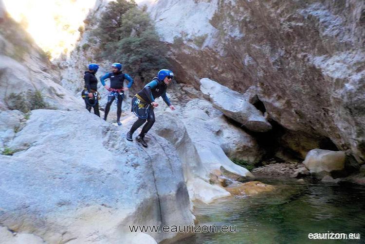 Canyoning Gorges de Galamus -Pyrénées Orientales - Eaurizon