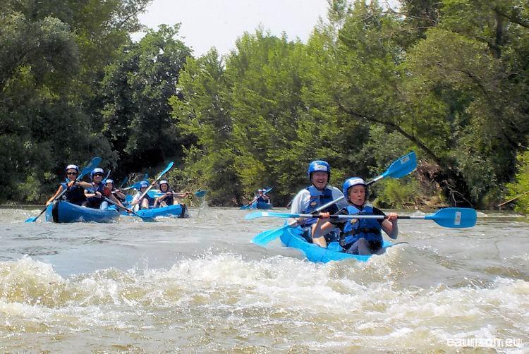 Canoë Kayak sur l'Aude - Eaurizon