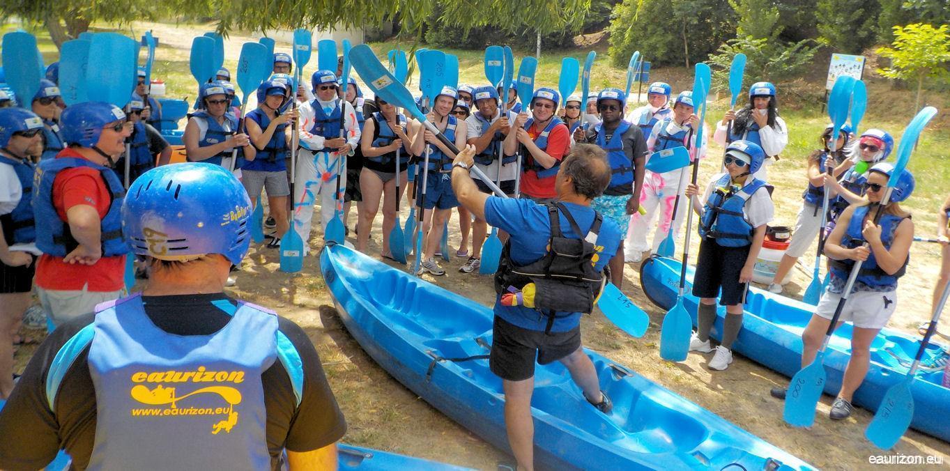 Formation Canoë Kayak Base nautique Puicheric - Eaurizon