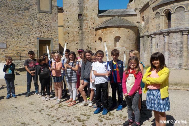 Tir à l'Arc - Abbaye de Caunes - Aude - Eaurizon