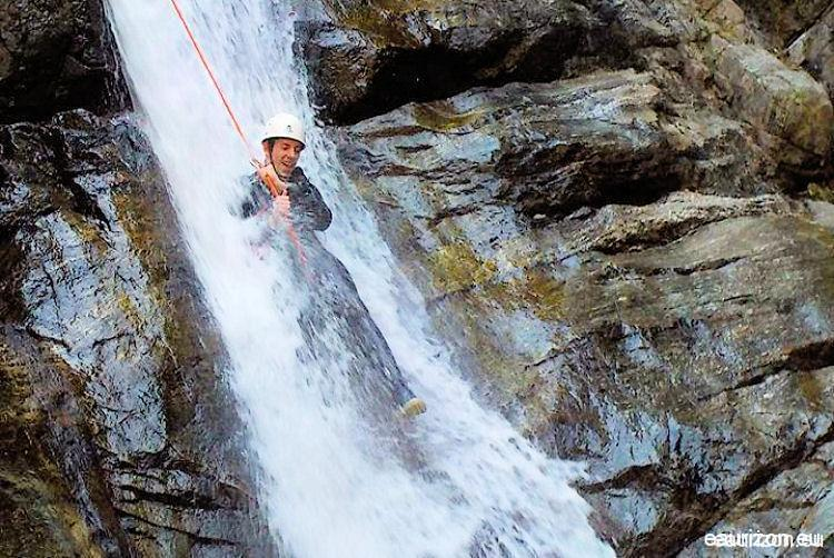Canyoning Gourg des Anelles -Eaurizon