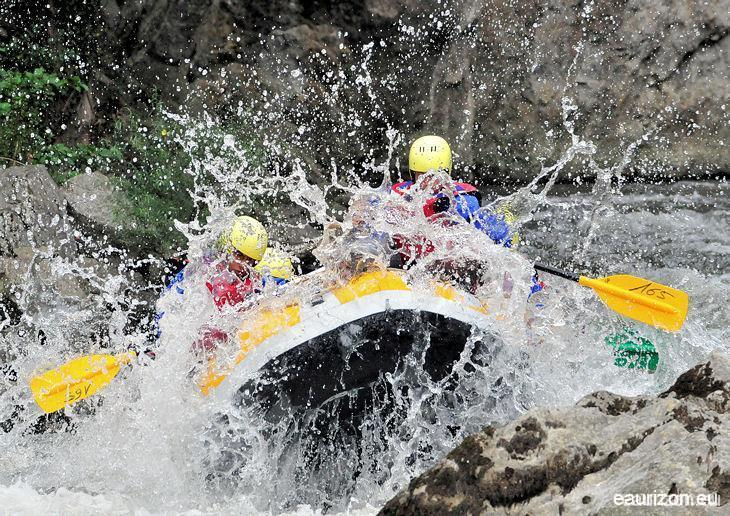 Rafting sur l'Aude - Axat - Eaurizon Sud Rafting