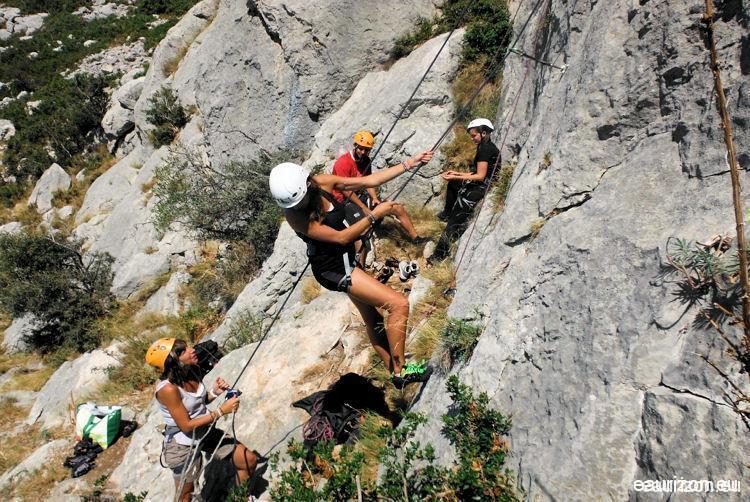 Escalade dans l'Aude - Eaurizon