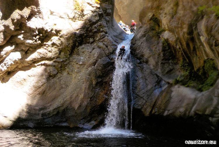 Canyoning Llech - Pyrénées Orientales - Eaurizon