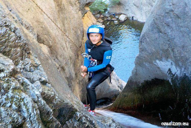 Canyoning Gourg des Anelles - Céret - Pyrénées Orientales - Eaurizon