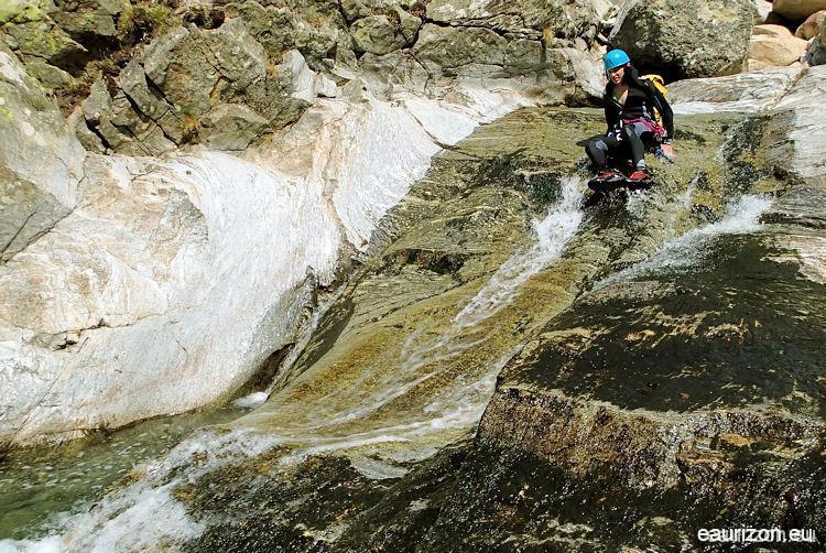 Canyoning Gorges du vialais - Caroux - Eaurizon