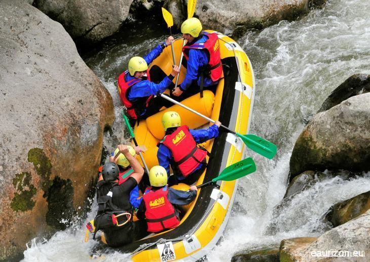 Rafting sur l'Aude - Pierre Lys - Eaurizon Sud Rafting