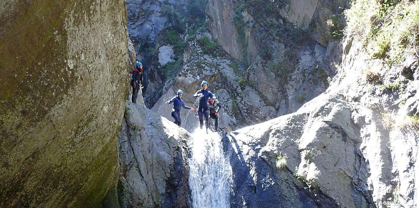 Canyoning Gorges du llech - Eaurizon