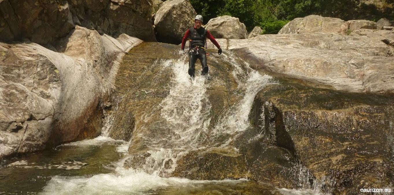 Canyoning Gorges du Vialais - Herault - Eaurizon