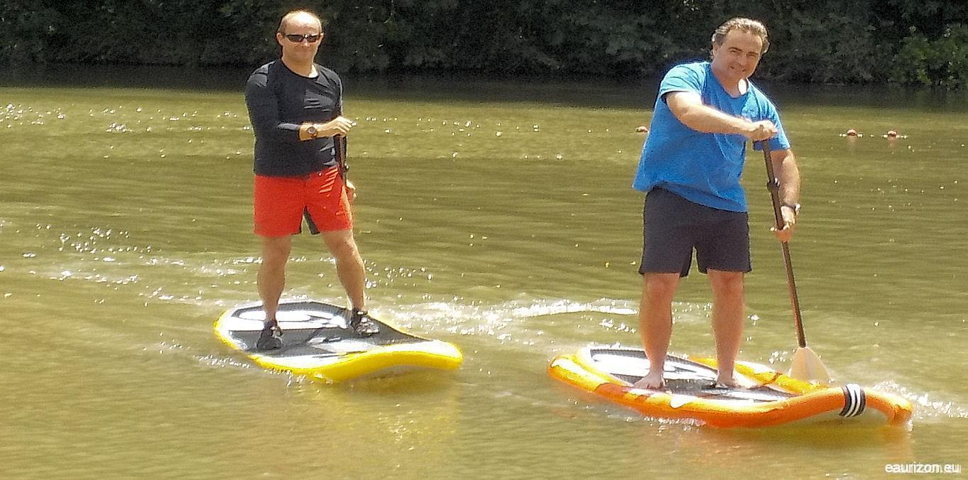 Stand up paddle sur l'Aude - Eaurizon
